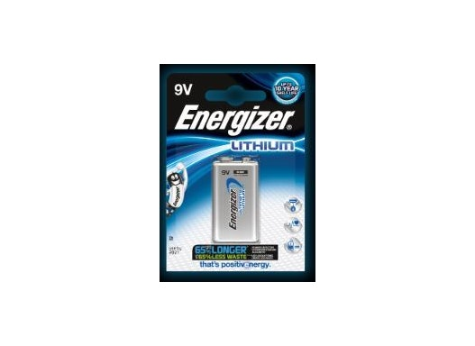 Lithiumbatterie 9V Energizer Lithium