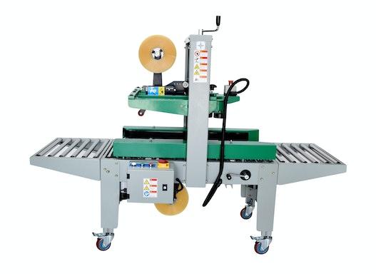 Kartonverschließer YS-501AWS   manuelle Kartoneinstellung