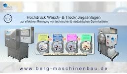 Spezial-Hochdruckwasch- & Trocknungsanlagen/high pressure washing & drying machines/machines à laver & sécher spéciales