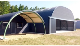 Bogenblech & Bogenhallen für verschiedenste Einsatzbereiche