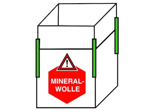 Mineralwolle Big Bag 140x140x150cm,SWL 250kg,SF 5:1