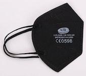 5-lagige FFP2 Masken schwarz, blau oder weiß; 100 Stk. einzeln verpackt im Karton