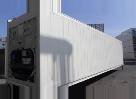 Gebrauchte Kühlcontainer - High-Cube-Ausführung mit Carrier-Microlink-III-Aggregat
