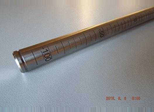 Rundgravur2 Metalle werden mit dem CO2Laser oder YAG-Laser bearbeitet. Den Laserstrahl kann man z.B. so einstellen, dass
