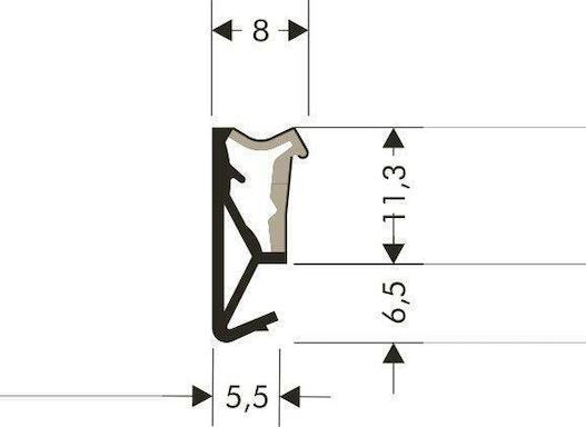 Flügel-Rahmendichtung SP125