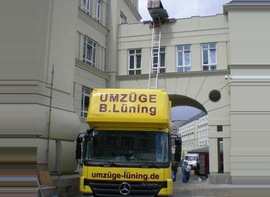 Transporte für den Innenausbau