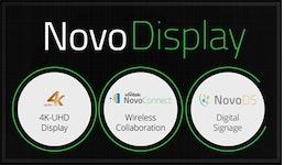 NovoDisplay - prof. Display mit Funk für Collaboration, Digital Signage, Videokonferenzen