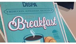 DISPA®  Papierplatte Kartonposter FSC®-zertifiziert