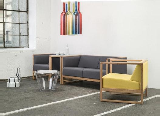 Objektstuhl / Loungesofa / Sofa / Sitzbank Cassablanca, 2-Sitzer