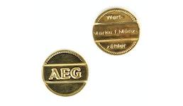 AEG Wertmarken Waschmarken für Münzgeräte