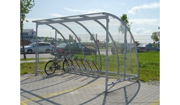Fahrradüberdachung Con-Rad