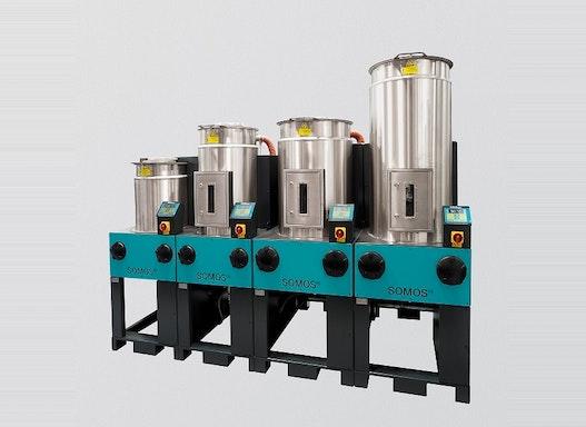 SOMOS® Stationäre Granulattrockner RDF (für mittlere Durchsätze)