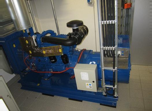100 kVA Notstromaggregat, gebraucht
