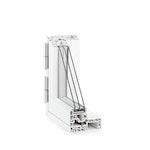 Das außenöffnende 120mm Fenstersystem aus dem Hightech-Werkstoff RAU-FIPRO