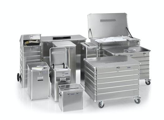 Gmöhling Datenentsorgungsbehälter G®-DOCU  D 1009 / D 3009 / 3709 aus Aluminium
