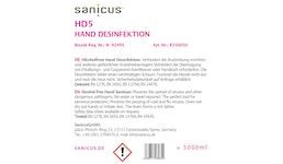 Sanicus HD5 Alkoholfreie Hand Desinfektionsmittel