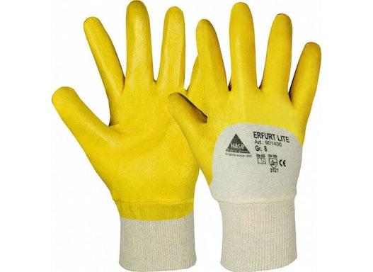 Nitril-Handschuhe, gelb
