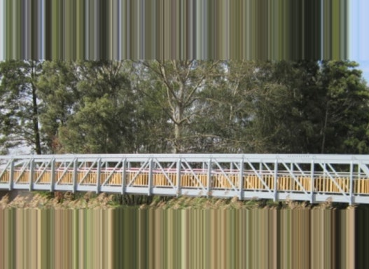 Aluminium Brücke