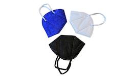 Schwarz (20), weiß (20), blau (20) FFP2 Masken von ESLH