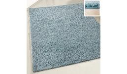 Shaggy Polyester Hochflor Teppich einfarbig Top Preis Harmony Kollektion 80x150