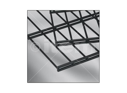 Doppelstabmatte 25x200, 1830x2008, schwarz