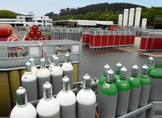 Technische Gase in Flaschen