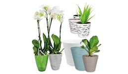 ndoor-Designpflanztöpfe Made in EU