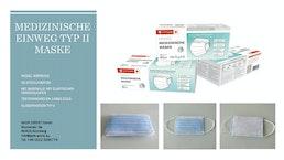 TYP II Medizinische 3-Schicht-Maske TYP II Lieferung aus Deutschland