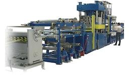 Intervallheißpresse / Organoblech Presssystem KV 260, Pressen für Kunststoffe