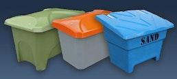 Sammelbehälter für den Außen- und Innenbereich