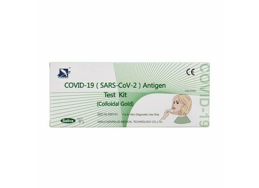 COVID-19 Antigentest (Spucktest)