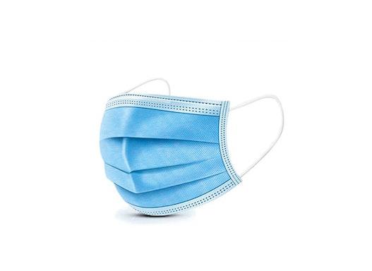 3-lagige Mund-Nasen-Maske, Einmal-Gebrauch, Lagerprodukt