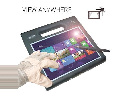 "Robustes 10,4"" Motion F5m Tablet PC (by Xplore), Rugged, i5, SmartCard Reader, 128GB, 4GB, W8.1 Pro, LTE, BC, Kamera"