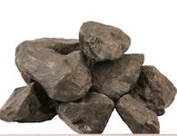 Basalt Bruchsteine