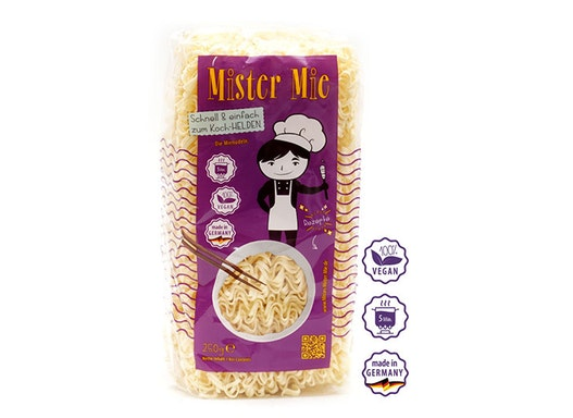 Mister Mie Classic Mie Nudeln vegan, 250 g