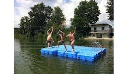 Ponton Badeinsel / Schwimminsel / Schwimmplattform