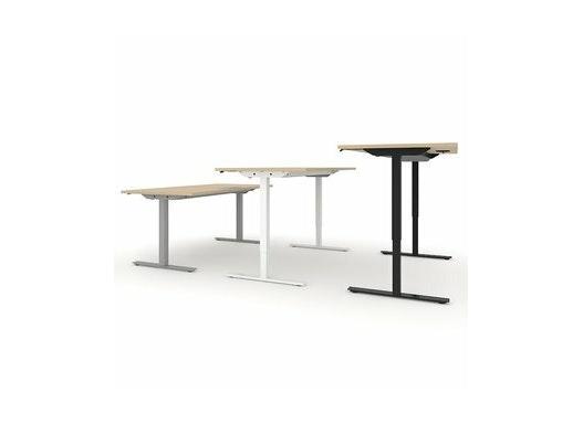 Sitz-Steh-Schreibtisch ONE 140x70 elektrisch höhenverstellbar