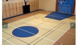 PVP - Elastikschicht für Sporthallen oder Mehrzweckhallenbau