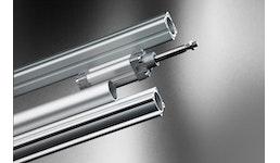 Aluminium-Zylinderrohre, Pneumatik Rohre, Pneumatik Zylinder, Strangpressprofile