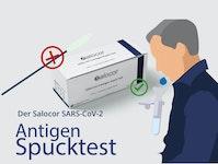 Antigen Spucktest COVID-19 Salocor 25 Stück