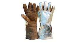 5-Finger-Hitzeschutzhandschuh mit kompletter Fütterung