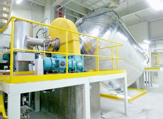Materialveredelung mit dem Taumelreaktor von ProTec