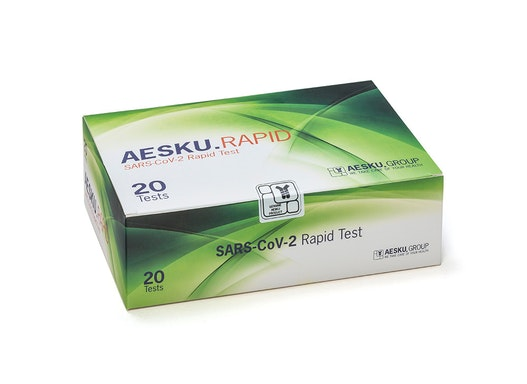 AESKU.RAPID SARS-CoV-2 Antigen-Laientest 20er Packung