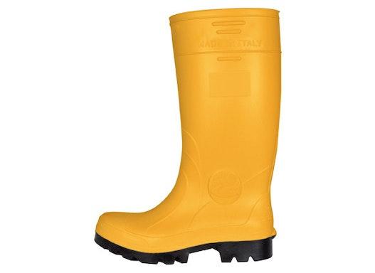 PU-Stiefel gelb