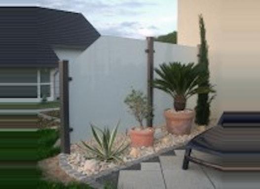 Seitenwände für Terrassen