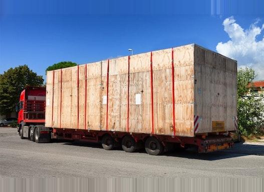 Spezialtransportkisten: Schwergut