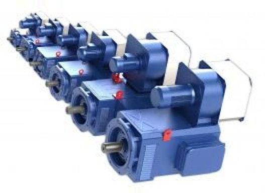 asynchron Motor TETRAVEC
