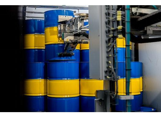 Fassentlader / ADU Automatische Entladung von Fässern SMB