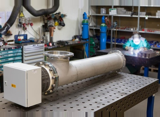 Elektrischer Durchlauferhitzer Industrieausführung