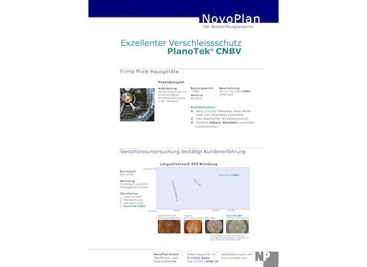 PlanoTek CNBV als Verschleißschutz